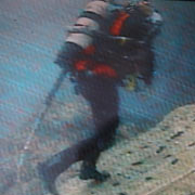 Diver on Blast Site