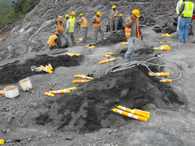 Rock Blasting Safety : Blasting solutions surface rock breaking