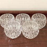 Clear Set of Candle Holders