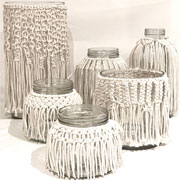 Macrame Vases