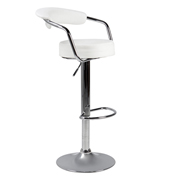 White 306 Bar Stool