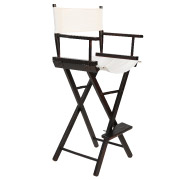 Beige (Dark Wood Frame) Directors High Chair