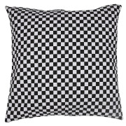 Black & White Chequered Scatter Cushion