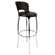 Black Asteroid Bar Stool