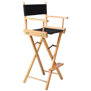 Black Directors High Chair Bar Stool