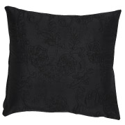 Black (Floral Patterned) Scatter Cushion