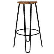 Black Hairpin Bar Stools