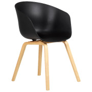 Black Hay Cafe Chair