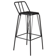 Black Jackson Bar Stool