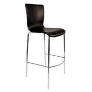 Black Komora Bar Stool