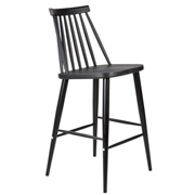 Black Lulu Bar Stool