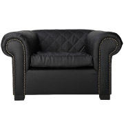 Black Madison Single Seater Couch