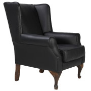 Black Majestic Single Seater Couch