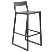 Black Nordic Bar Stool