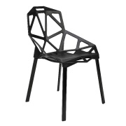 Black One Cafe Chair