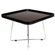 Black Square Martini Coffee Table