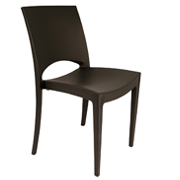 Black Stellar Cafe Chairs