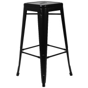Black Xavier Bar Stool