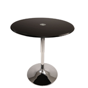Black Reflecto Cocktail Table