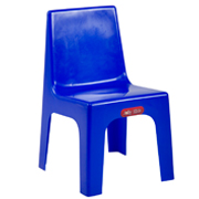 Blue Kids Plastic Chair