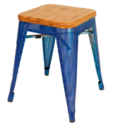 Blue Xavier Cafe Stool