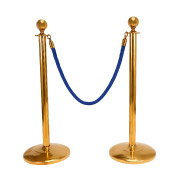 Blue Stanchion Ropes