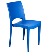 Blue Stellar Cafe Chair