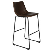 Brown Vintage Bar Stool