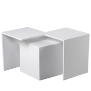 White Callisto Side Table