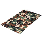Camo Patterned Rug