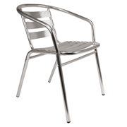 Chrome Sling Cafe Chair