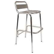 Chrome Cosmo  Bar Stool