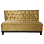 Gold Double Seater Couch