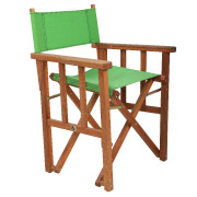 Green Directors Cafe Chair