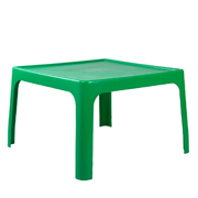 Green Square Plastic Table