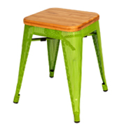 Green Xavier Cafe Stool