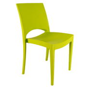 Green Stellar Cafe Chair