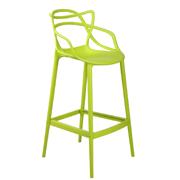 Green Twist Bar Stool