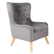Grey Dorchester Single Seater Couch
