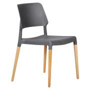 Grey Karoo Cafe Chair