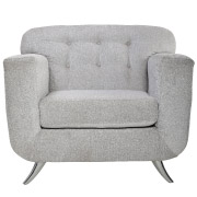 Grey Mississippi Single Seater Couch
