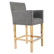 Grey Olivia Bar Stool
