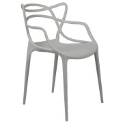 Grey Twist Cafe Chair