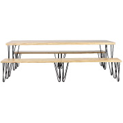 Hairpin Bench Set