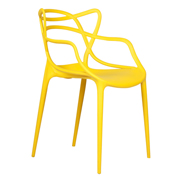 Yellow Twist Cafe Chair