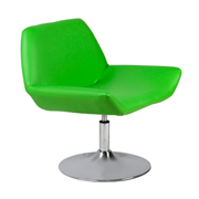 Green Edge Swivel Single Seater Couch