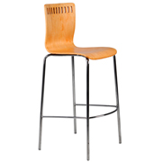Light Wood Amarula Bar Stool