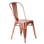 Rose Gold Xavier Cafe Chair