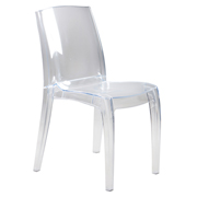 Transparent Phantom Cafe Chair