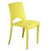 Yellow Stellar Cafe Chair